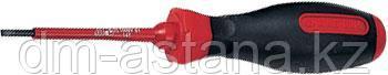 Отвертка шлицевая Slotted 3,0 мм, 75 мм, диэлектрическая KING TONY 14720303