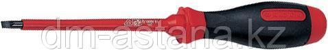 Отвертка шлицевая Slotted 5,5 мм, 125 мм, диэлектрическая KING TONY 14725505