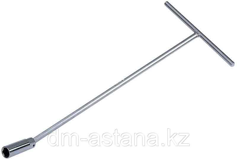 Ключ свечной с шарниром 16 мм, L = 380 мм KING TONY 15631615
