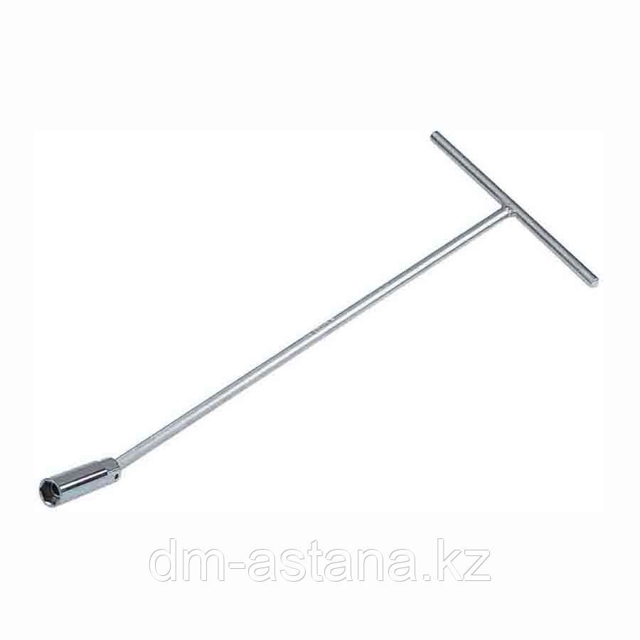 Ключ свечной с шарниром 16 мм, L = 300 мм, магнитный фиксатор KING TONY 15661612