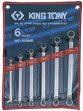 Набор накидных ключей, 10-26 мм, 6 предметов KING TONY 1606MR