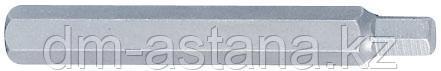 Вставка (бита) торцевая 10 мм, HEX, 4 мм, L = 80 мм KING TONY 168004H