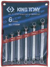 Набор накидных ключей, 6-17 мм, 6 предметов KING TONY 1706MR