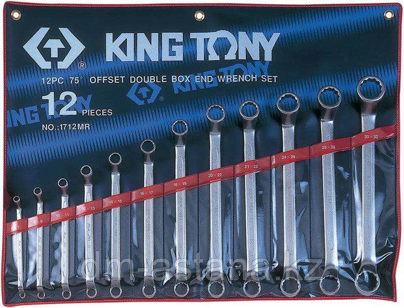 Набор накидных ключей, 6-32 мм, 12 предметов KING TONY 1712MR