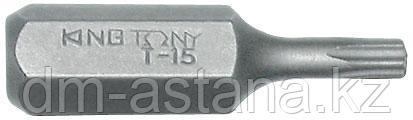 """Вставка (бита) торцевая 5/16"""", TORX, Т25, L = 32 мм KING TONY 183225T"""