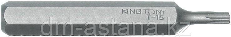 """Вставка (бита) торцевая 5/16"""", TORX, T15, L = 70 мм KING TONY 187015T"""