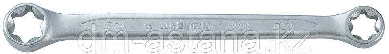 Ключ накидной TORX E-стандарт E6-E8 KING TONY 19200608
