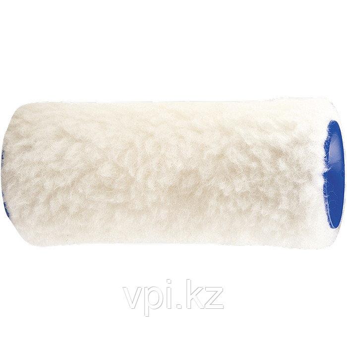 Мини-валик сменный натуральный мех 48*100мм., ворс 12мм. Сибртех