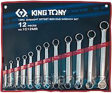 Набор накидных ключей, 6-32 мм 12 предметов KING TONY 1C12MR
