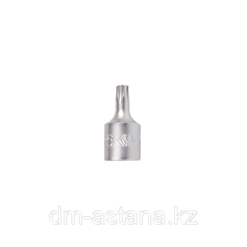 """Насадка (бита) торцевая 1/4"""", TORX T8, L = 25 мм KING TONY 201308X"""
