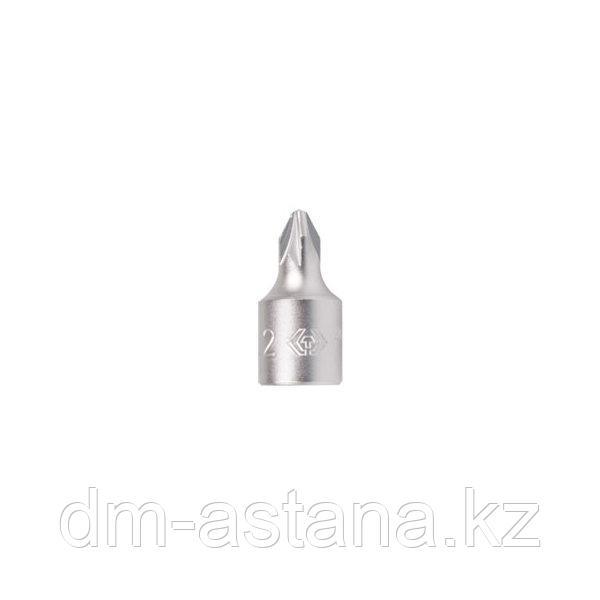 Насадка (бита) торцевая 1/4, Pozidriv, PZ1, L = 25 мм KING TONY 201801X