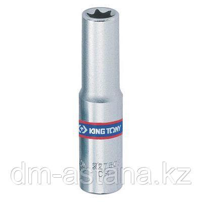 "Головка торцевая TORX Е-стандарт 1/4"", E7, L = 50 мм KING TONY 227507M"