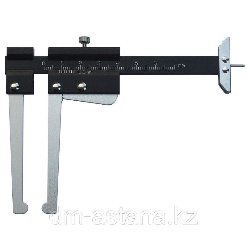 Штангенциркуль для тормозных дисков, 0-60 мм МАСТАК 230-00060