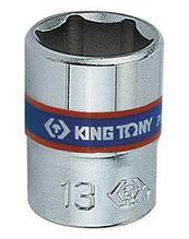 "Головка торцевая стандартная шестигранная 1/4"", 3,2 мм KING TONY 233532M"