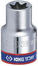 "Головка торцевая TORX Е-стандарт 1/4"", E7, L = 24 мм KING TONY 237507M"