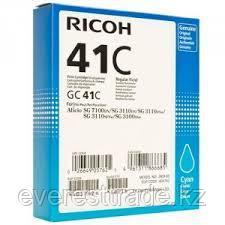 Картридж RICOH 405762 GC 41C голубой, фото 2