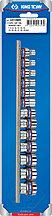 """Набор торцевых головок 3/8"""", двенадцатигранные, 7-19 мм, 13 предметов KING TONY 3013MR"""