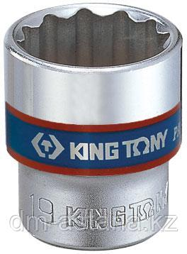 "Головка торцевая стандартная двенадцатигранная 3/8"", 10 мм KING TONY 333010M"