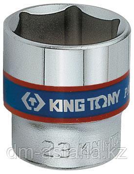 "Головка торцевая стандартная шестигранная 3/8"", 14 мм KING TONY 333514M"