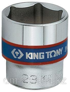 "Головка торцевая стандартная шестигранная 3/8"", 17 мм KING TONY 333517M"