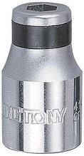 """Переходник 1/2"""">10 мм для вставок (бит) KING TONY 414810M"""