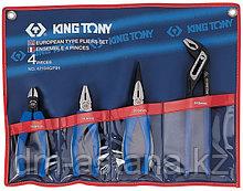 Набор пассатижей и бокорезов, 4 предмета KING TONY 42104GP01