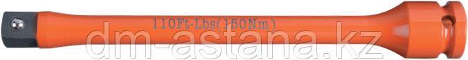 """Удлинитель торсионный 1/2"""", 195 мм, с ограничителем крутящего момента 150 Нм KING TONY 4269-08-F0"""