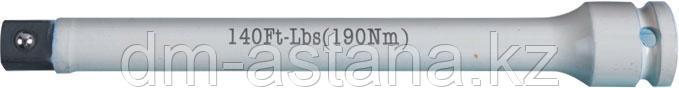 """Удлинитель торсионный 1/2"""", 195 мм, с ограничителем крутящего момента 190 Нм KING TONY 4269-08-J0"""