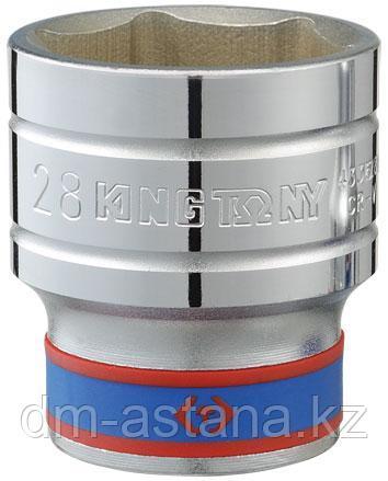 "Головка торцевая стандартная шестигранная 1/2"", 18 мм KING TONY 433518M"
