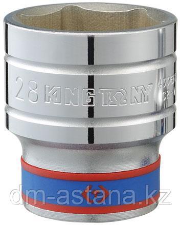 "Головка торцевая стандартная шестигранная 1/2"", 21 мм KING TONY 433521M"