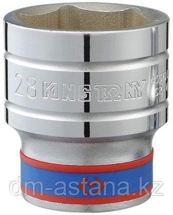 "Головка торцевая стандартная шестигранная 1/2"", 28 мм KING TONY 433528M"