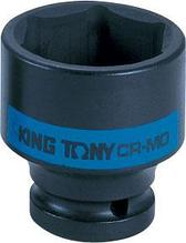 "Головка торцевая ударная шестигранная 1/2"", 19 мм KING TONY 453519M"