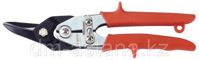 Ножницы по металлу 260 мм, левые, загнутые KING TONY 74250