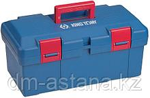 Ящик инструментальный, 445x240x206 мм, 2 отсека, полипропилен KING TONY 87407