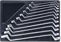 Набор накидных ключей, ложемент, 11 предметов KING TONY 9-1711MR