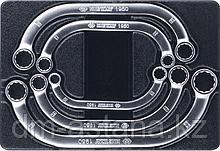 Набор накидных стартерных ключей, ложемент, 5 предметов KING TONY 9-1905MR