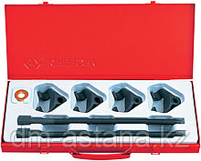 Набор для стяжки пружин амортизатора, 85-370 мм, кованые крюки, 6 предметов KING TONY 9BF11