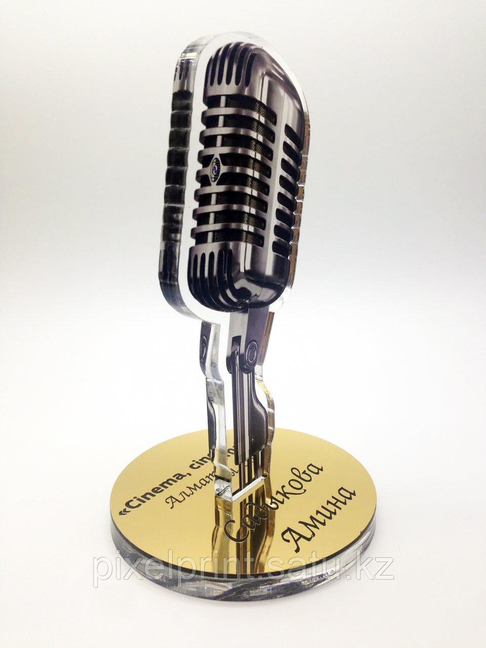 Награда в виде микрофона