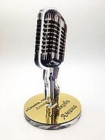 Награда в виде микрофона, фото 1
