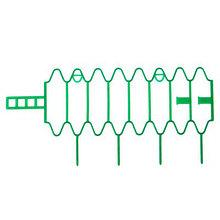 """Опора для растений, h=18 см, l=30 см, универсальная, набор 10 шт., """"Волна"""", зелёная"""