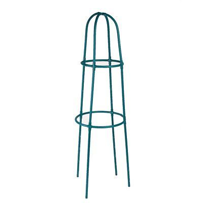 Кустодержатель, d=40-50 см, h=165 см, толщина 2 см, пластик, зелёный