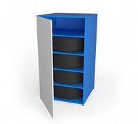 Шкаф металлический для хранения шин ШМ-1