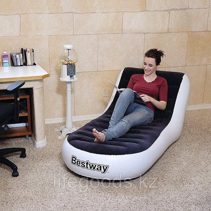 Надувное кресло-шезлонг 165х84х79 см, Bestway 75064