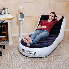 Надувное кресло-шезлонг 165х84х79 см, Bestway 75064, фото 2