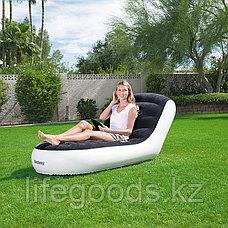 Надувное кресло-шезлонг 165х84х79 см, Bestway 75064, фото 3