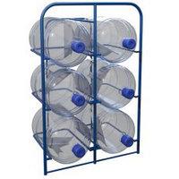 Стеллаж для хранения бутылей с водой объемом 19 литров СВД-6