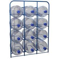 Стеллаж для хранения бутылей с водой объемом 19 литров СВД-12