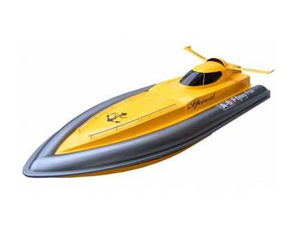 Большая лодка на пульте управления 7006