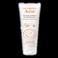 Avene SPF 50+ Молочко минеральное, без химических фильтров и запаха, 100 мл