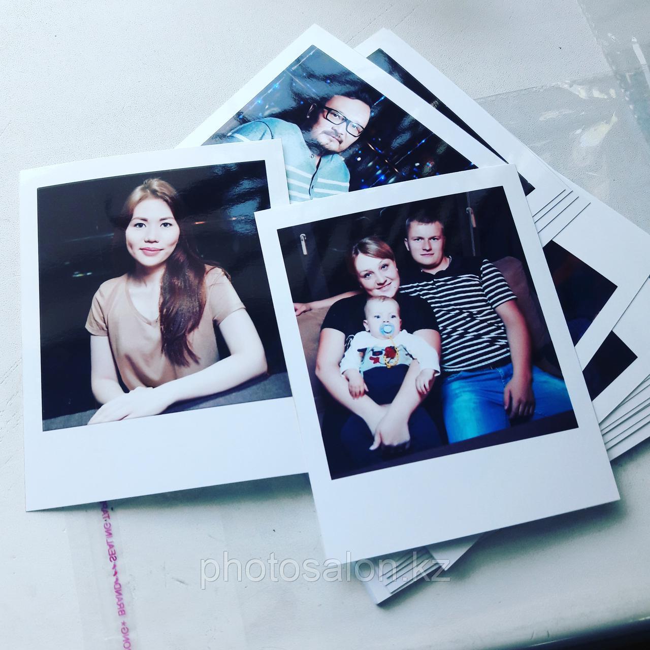 Фотографии в стиле Polaroid